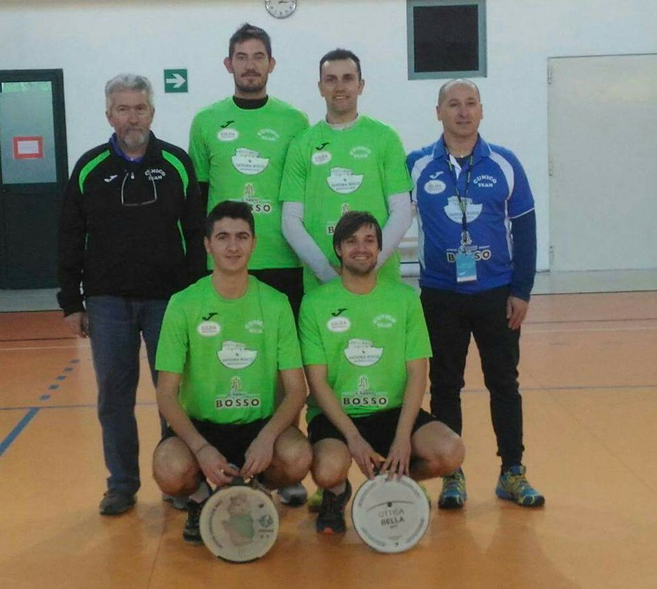 Cunico Team serie A Indoor M 2017