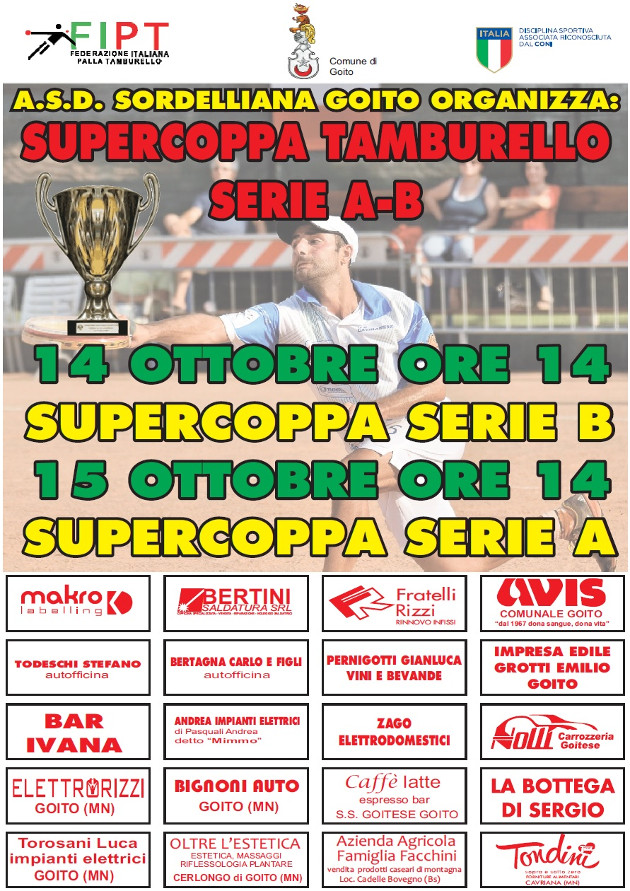 Supercoppa Open 2017
