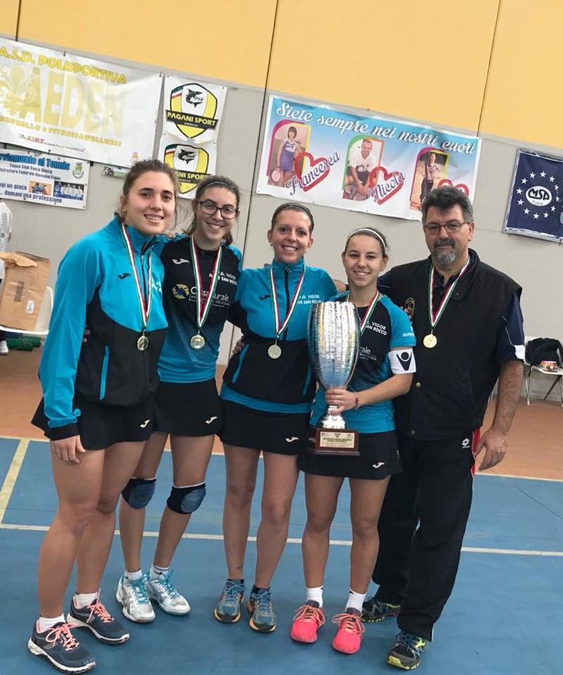 Nave San Rocco vinictrice Supercoppa Indoor 18